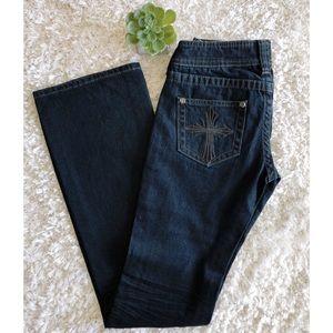 Affliction | Black Premium Jade Boot Cut Jeans